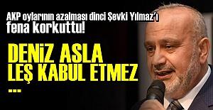 DİNCİ ŞEVKİ YILMAZ TELAŞTA!..