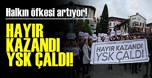 HAYIR KAZANDI.. YSK ÇALDI..