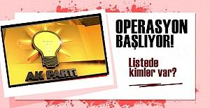 OPERASYON SIRASI 'SİYASİLERE' GELDİ!..
