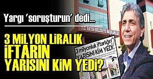 AKP#039;Lİ BELEDİYENİN SKANDALINA...