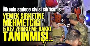 'BEŞ KEZ ZEHİRLEYEBİLİRSİNİZ, SORUN YOK...'