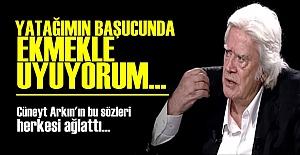 CÜNEYT ARKIN HERKESİ AĞLATTI!