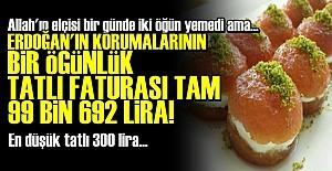 KORUMALARIN DEHŞET VERİCİ TATLI FATURASI!