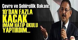 BAKAN'DAN ŞAKA GİBİ İTİRAF!