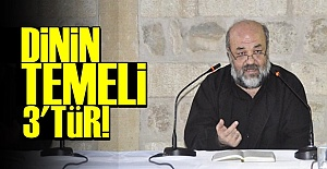 #039;DİNİN TEMELİ 3#039;TÜR...#039;