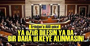 ERDOĞAN'A ABD ŞOKU!