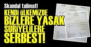 TÜRKİYE'DE TÜRKLERE YASAK ONLARA SERBEST!