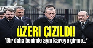 'BİR DAHA BENİMLE AYNI KAREYE GİRME...'