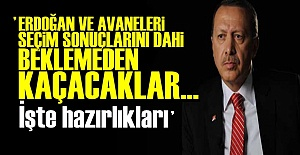 #039;ERDOĞAN KAÇMA PLANLARI YAPIYOR...#039;
