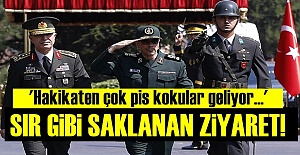 #039;SIR GİBİ SAKLANAN ZİYARET#039;