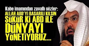 YAZIK Kİ KABE İMAMISIN!..