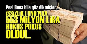 İŞSİZLİK FONU MİLYONLARI KAYBOLDU!