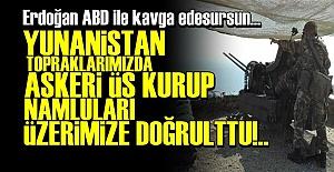 TÜRK TOPRAKLARINDA 5 BİN ASKERLİK ÜS KURDULAR!