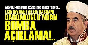 BARDAKOĞLU#039;NDAN BOMBA AÇIKLAMA!..