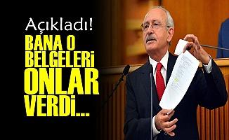 BELGELERİ KİMDEN ALDIĞINI AÇIKLADI!