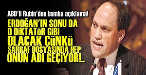 RUBİN#039;DEN BOMBA SARRAF İDDİASI!