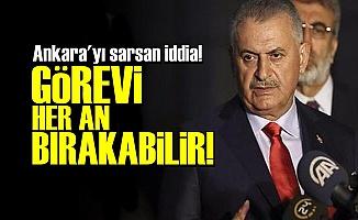 'BAŞBAKAN GÖREVİ BIRAKABİLİR'