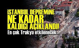 DEPREMİN TARİHİ AÇIKLANDI!..