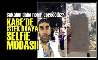 KABE'DEN ŞİPARİŞ DUA MODASI!..