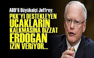'PKK'YI DESTEKLEYEN UÇAKLARA ERDOĞAN İZİN VERİYOR'