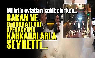 AFRİN'İ KAHKAHALARLA SEYRETTİLER!