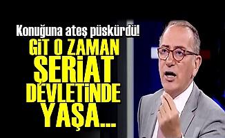 FATİH ALTAYLI ÇILDIRDI!