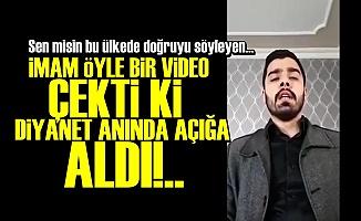 İMAM'DAN DİYANET'İ ÇILDIRTAN VİDEO!