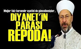 DİYANET ÖNCE FAİZ AYETİNİ GÜNCELLEMİŞ!
