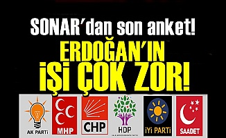 'ERDOĞAN'IN İŞİ BU DEFA ÇOK ZOR'