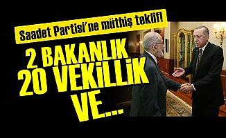 SAADET'E DUDAK UÇUKLATAN TEKLİF!