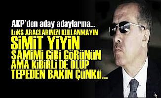 AKP MİLLETİ BÖYLE KANDIRACAK!
