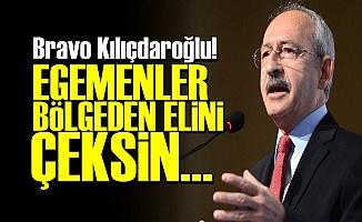 KILIÇDAROĞLU'NDAN DERS GİBİ SÖZLER!