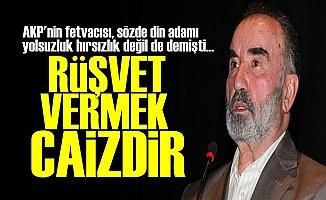 AKP'Yİ KORUYACAĞIM DİYE DİNİ TERS YÜZ EDİYOR!