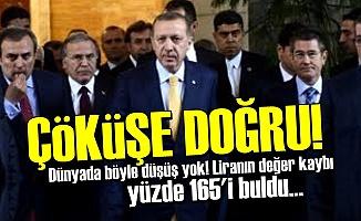 EKONOMİYİ BATIRARAK GİDİYORLAR!