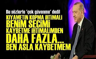 ERDOĞAN'A BÖYLE SESLENDİ: O DA BÖYLE DEMİŞTİ AMA...