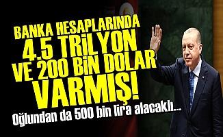ERDOĞAN'IN MÜTHİŞ SERVETİ!