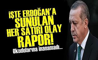 İŞTE ERDOĞAN'A SUNULAN OLAY RAPOR!
