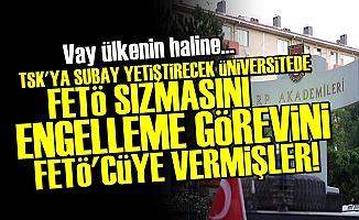 MİLLİ SAVUNMA ÜNİVERSİTESİ'DEN FETÖ SKANDALI!
