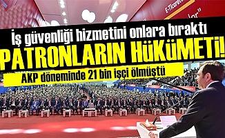 PATRONLARIN HÜKÜMETİ!