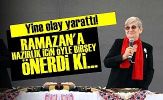 'RAMAZAN'A BAŞLAMADAN ÖNCE ONU İÇİN...'