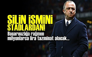 'TERİM İSMİNİ SİLİN STADLARDAN'