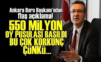 'AKP Avrupa Nüfusu Kadar Oy Bastı'