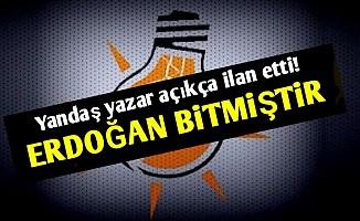 'AKP De Erdoğan Da Bitmiştir'