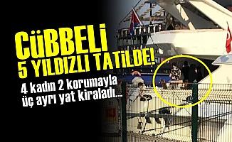 Cübbeli '5 Yıldızlı' Tatilde!