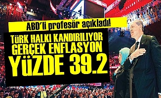 'GERÇEK ENFLASYON YÜZDE 39.2'