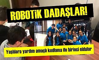 ROBOTİK DADAŞLAR GURURLANDIRDILAR!