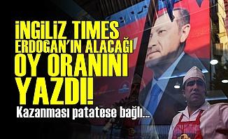Times Erdoğan İçin Rakam Verdi!
