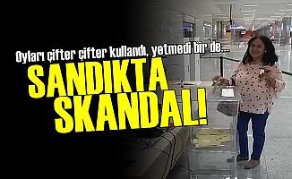 'Yola Devam' Diyerek Çift Oy Kullandı!