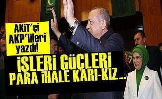 'AKP'lilerin İşleri Güçleri Para, Kara-Kız'