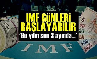 Boratav: 'IMF Günleri Başlayabilir'